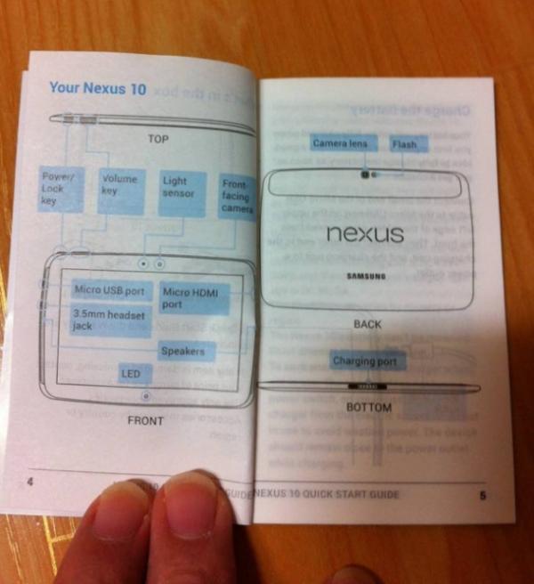 Nexus 10 Guide Inside