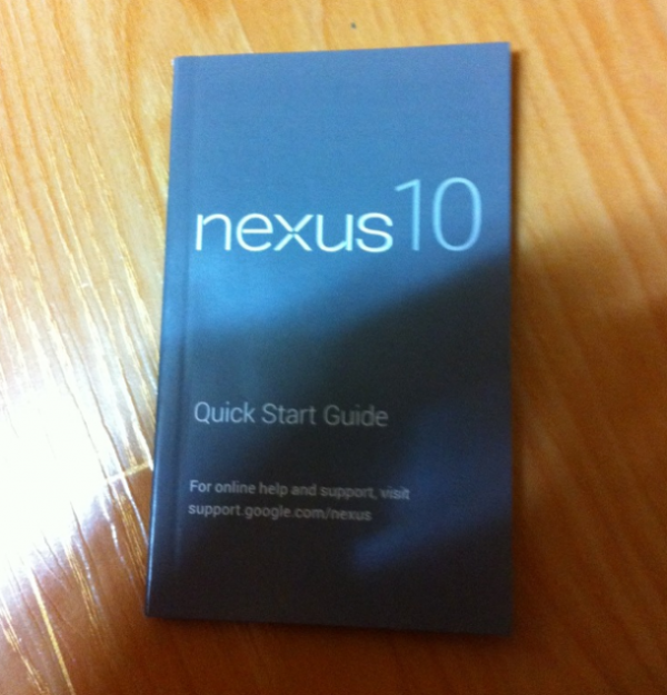 Nexus 10 Guide