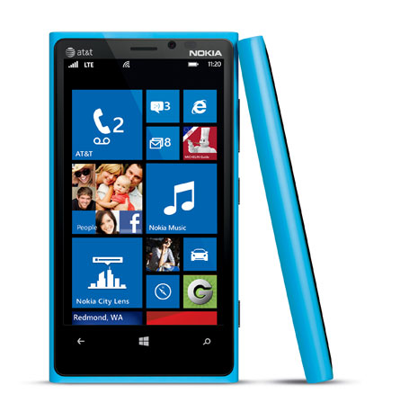 Nokia Lumia 920 To Come In Cyan, Heading To AT&T