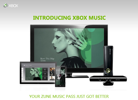 Xbox Music Lady Gaga Xbox Music picks up where Zune left off, takes on Spotify and iTunes