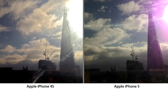 iPhone 5 Purple Flare Comparison Apple Publicly Responds To iPhone 5 Purple Flare, Still Says Youre Using The Camera Wrong