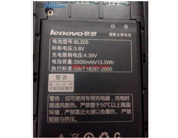 Lenovo P770 Battery