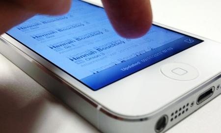 iphone 5 touchscreen glitch