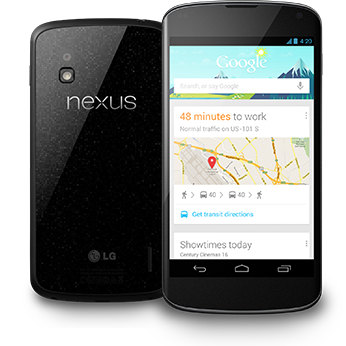 Nexus 4 does have 4G, and can be enabled