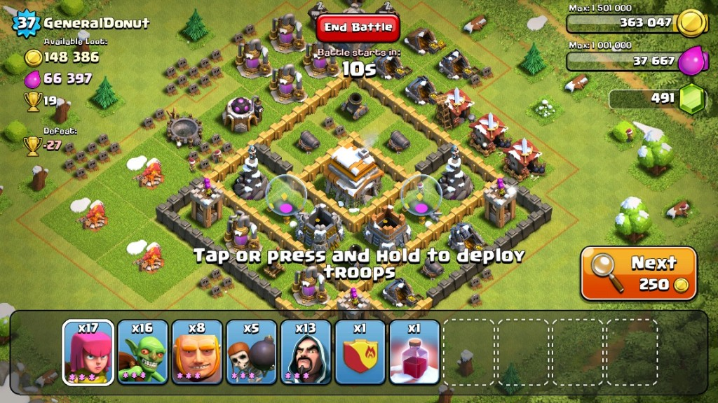 IMG 1090 1024x576 Clash of Clans Strategy Guide