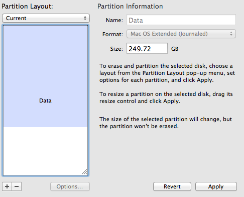 Screen Shot 2012 12 30 at 21.16.29 How to resolve a Partition Failed error in Mac OSX