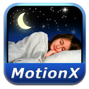 sleep by motionx iphone app