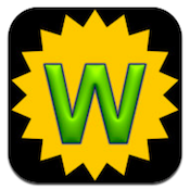 Wordistic iPhone Game Review: Fun Game, Strange Design