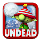 Undead Tidings iPad Game Review: Zombie-tastic Snowball Fights!