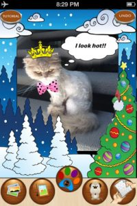 mzl.ocwshyas.320x480 75 200x300 Snappet   Christmas Edition iPhone App Review: Holiday Pet Fun