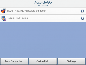 photo 1 300x225 AccessToGo iPad App Review: Blazing Fast Remote Desktop
