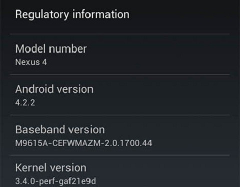 Jelly Bean Android 4.2.2 coming soon
