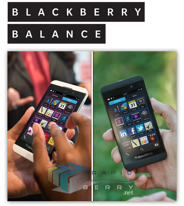 BlackBerry 10 Balance