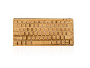 Bluetooth Bamboo Keyboard 300x225 Wireless Bamboo Keyboard Launching at CES