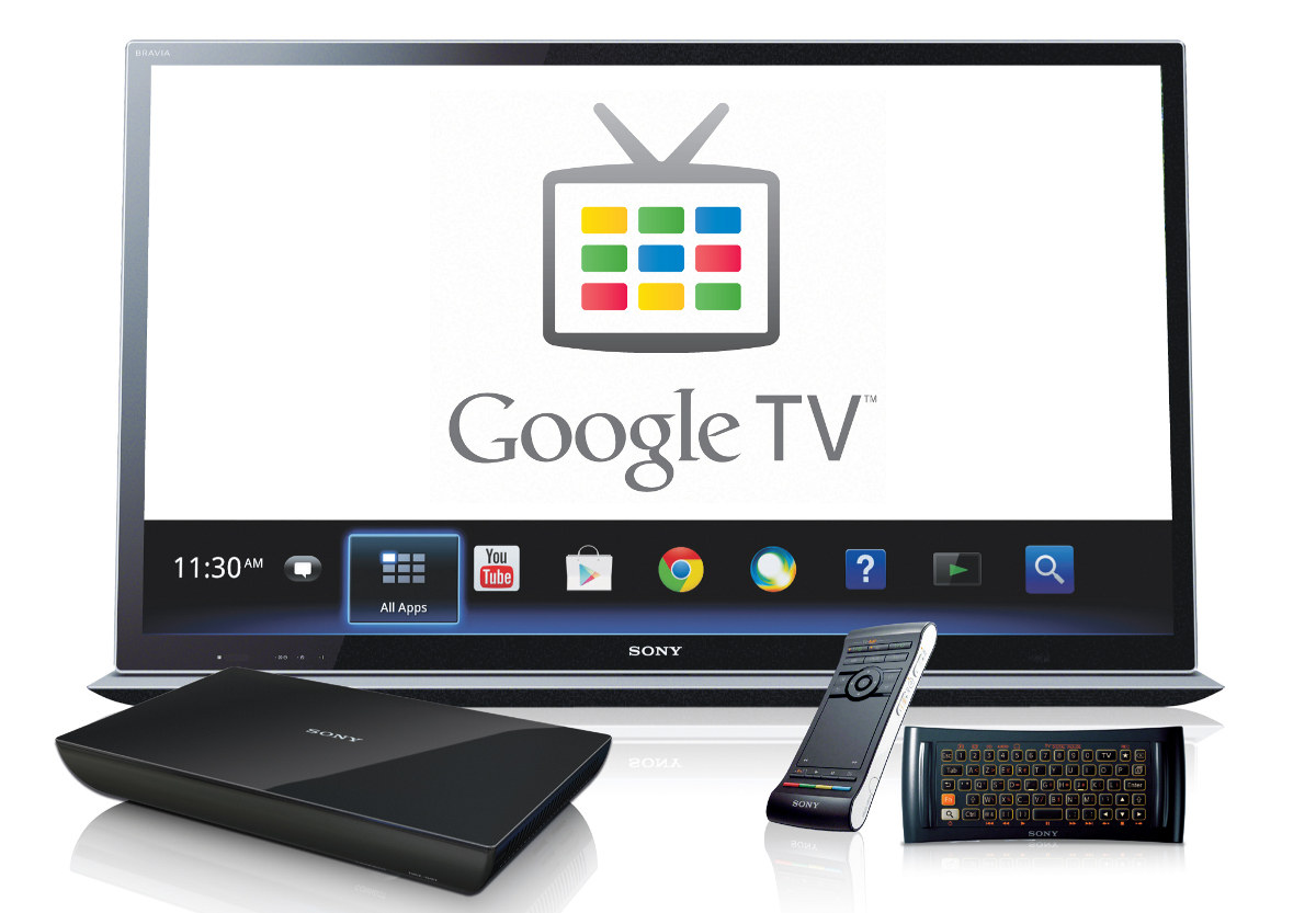 google tv still has top partners despite poor sales. Black Bedroom Furniture Sets. Home Design Ideas