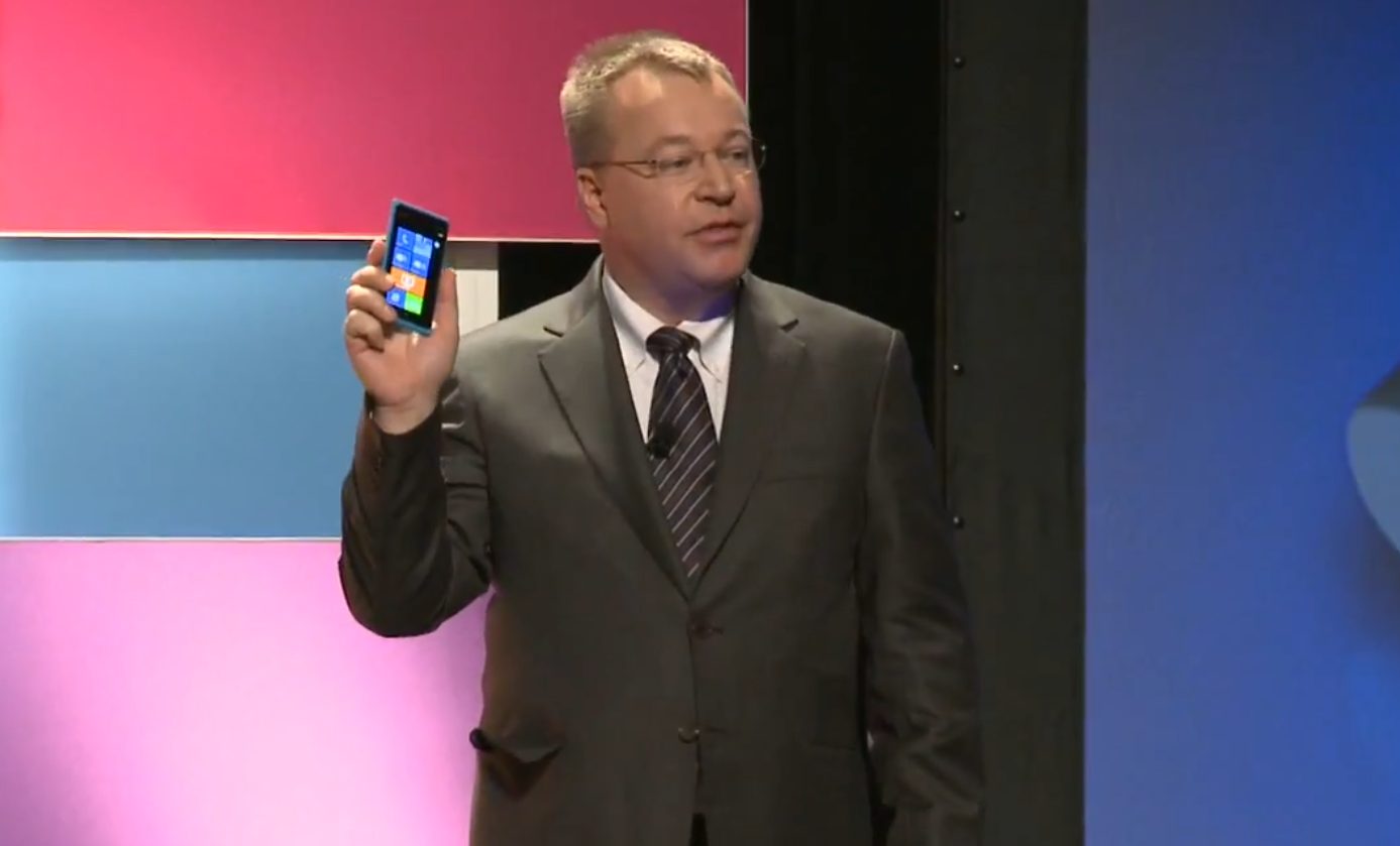 Nokia CEO Stephen Elop Nokia CEO denies moving to Android