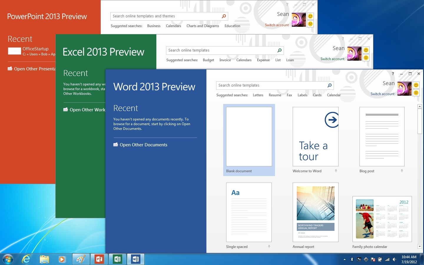 Microsoft new Office 2013 & 365 suite