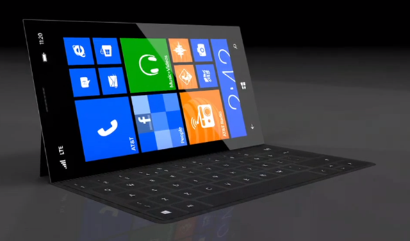 Surface Phone concept 1 Surface Phone concept gets rendered