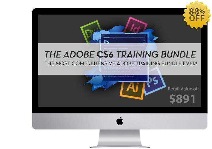 adobe CS6 Sharpen Your Design Skills With The Adobe CS6 Training Bundle