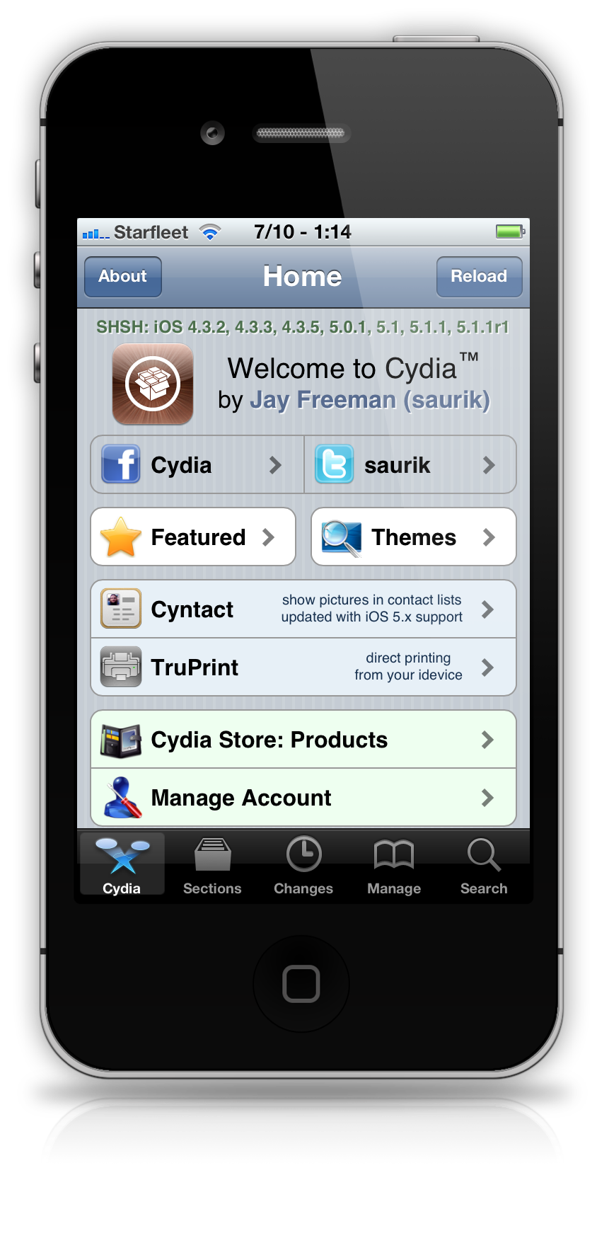 cydia iphone Cydia will be primed for iOS 6.1 Untethered Jailbreak