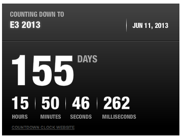 e3 countdown Major Nelson teases E3 2013 release for Xbox 720