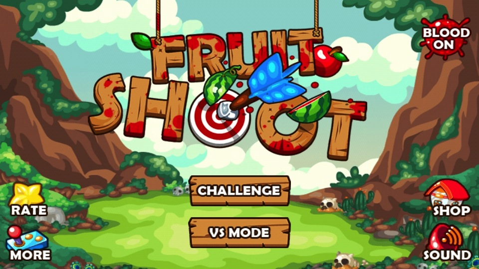 shoot fruit game