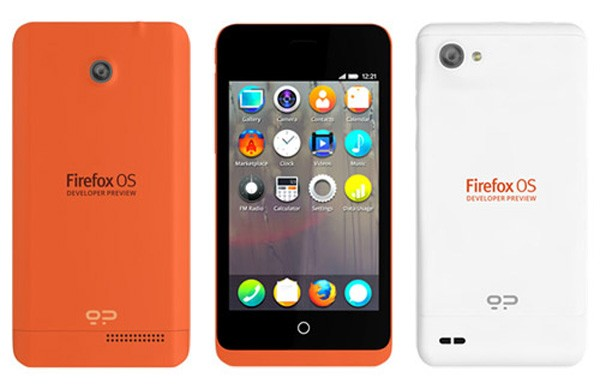 geeksphone Mozilla reveals two developer Firefox OS devices