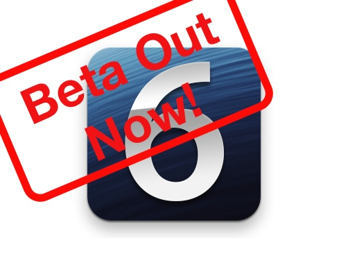 ios beta iOS 6.1 Beta 5 released, adding support for 128GB iPhone