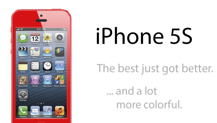 iPhone 5S to come in June with multiple colours
