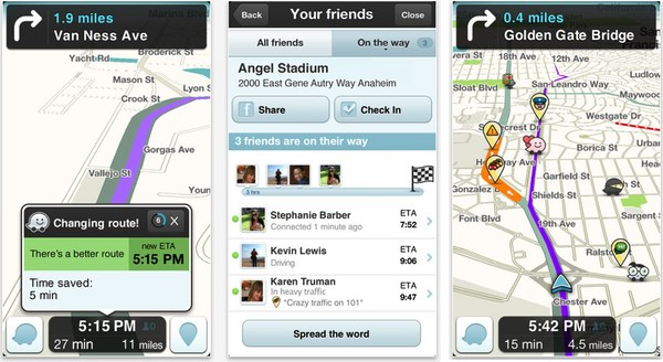 iPhone Maps Fix: A Waze to Go?