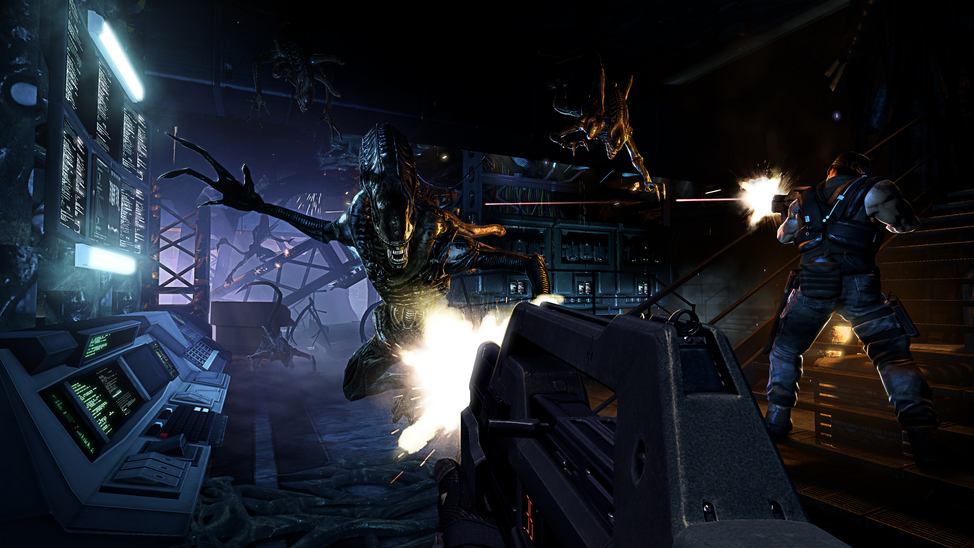 Aliens Colonial Marines Aliens: Colonial Marines is mostly TimeGates work