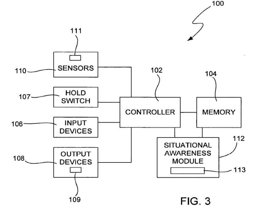 Apple patent 8385039 drawing 001 Apple researching iPhone technology to predict users actions