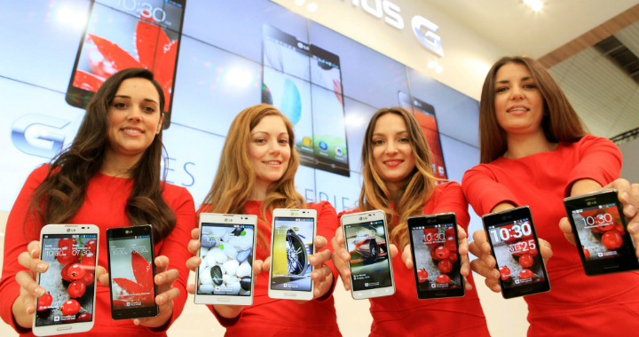 LG smartphones Mobile World Congress