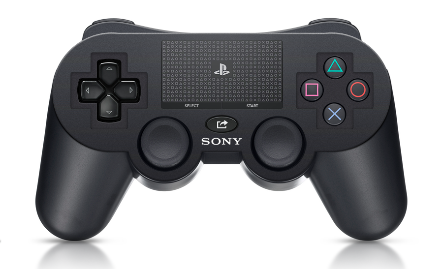 Playstation 4 controller mockup Gamers draw some PlayStation 4 controller concept art