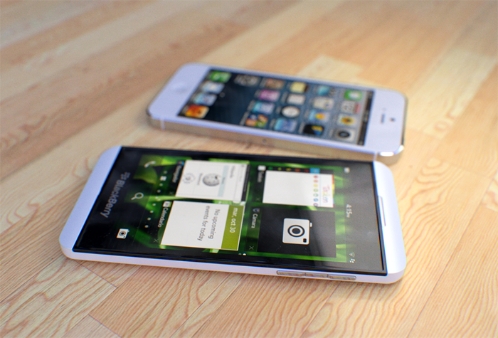 blackberry vs iphone5 Playing Catch Up? A BlackBerry Z10 Mini Review