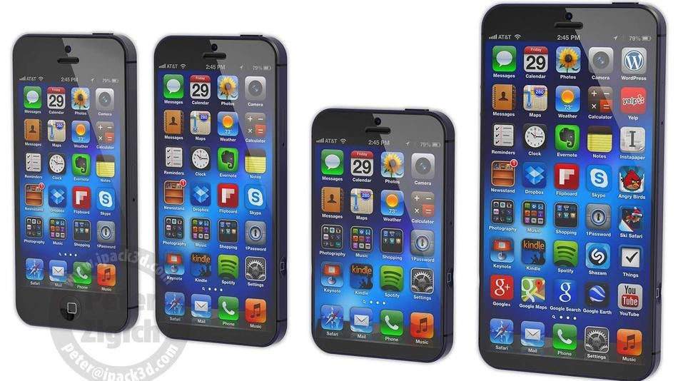 The iphablet doesn't sound that appealing the iphone 5 is still