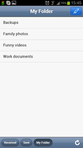store your files with ease and speed with senditz With store your files with ease and speed with senditz android app review