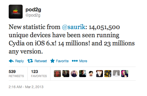 Pod2G Evasi0n Jailbreak Are you one of the 14 million to Jailbreak iOS 6?