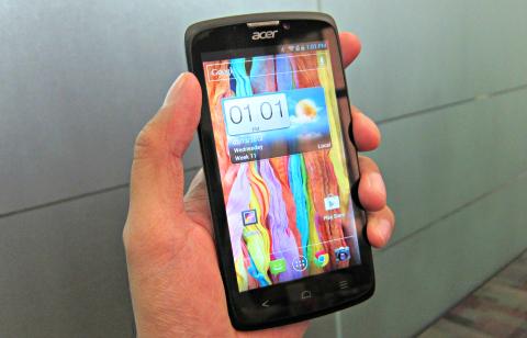 Samsung Galaxy SIV alternative Acer Liquid C1