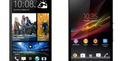 Xperia Z vs HTC One