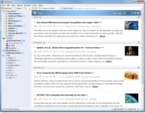 feeddemon ui 300x232 Top 5 Google Reader Alternatives