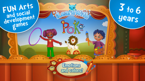 For the Kids: Emotions, Feelings and Colors! iPad App Review