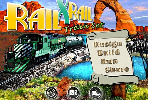 Rail x Rail Train Set iPad App Review: Not as Fun as the Real Thing