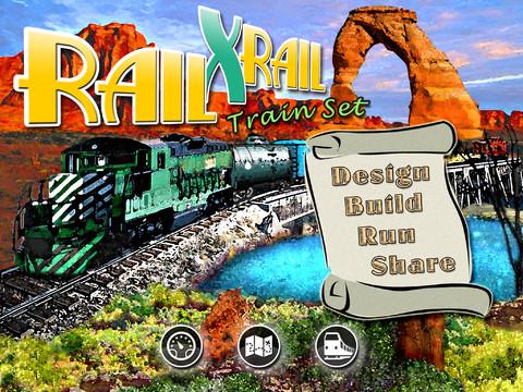 Rail x Rail Train Set ipad app