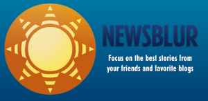 newsblur logo 300x146 Top 5 Google Reader Alternatives