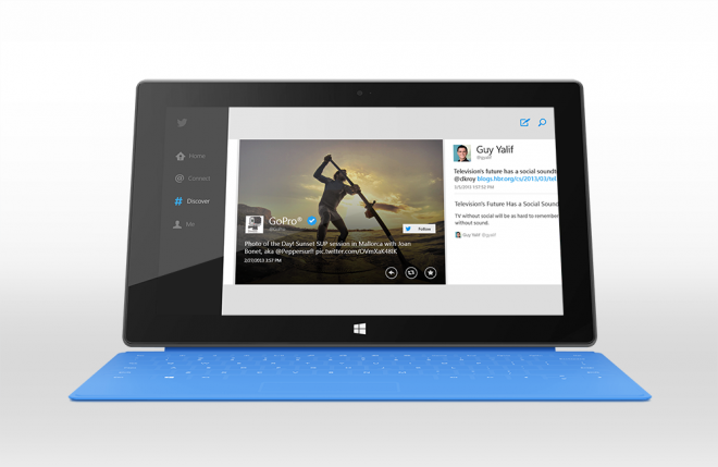 official twitter app for windows 8 and rt