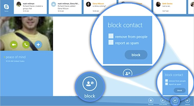 skypewindows8 Skype for Windows 8 updated, gains contact blocking