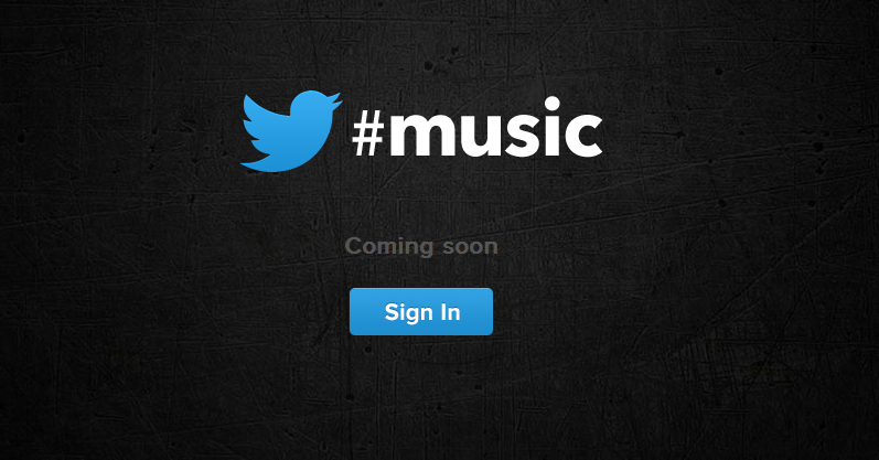 Twitter-Music-Service