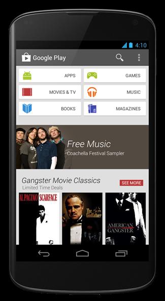 Google Play Store 4.0.25 App