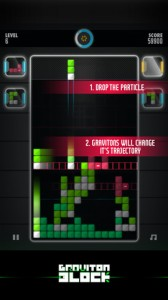 Graviton Block iPhone App